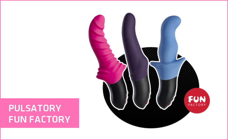 pulsatory fun factory15 Wibrator dla początkującej kobiety. Jak go wybrać?