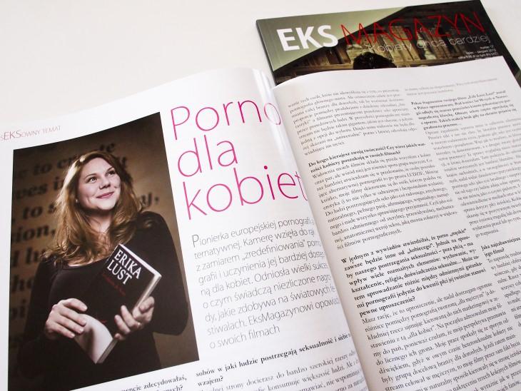eks magazyn big mini Erika Lust w EKS Magazynie