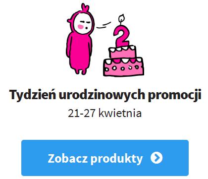 urodziny kinky winky Tydzień zniżek na drugie urodziny Kinky Winky