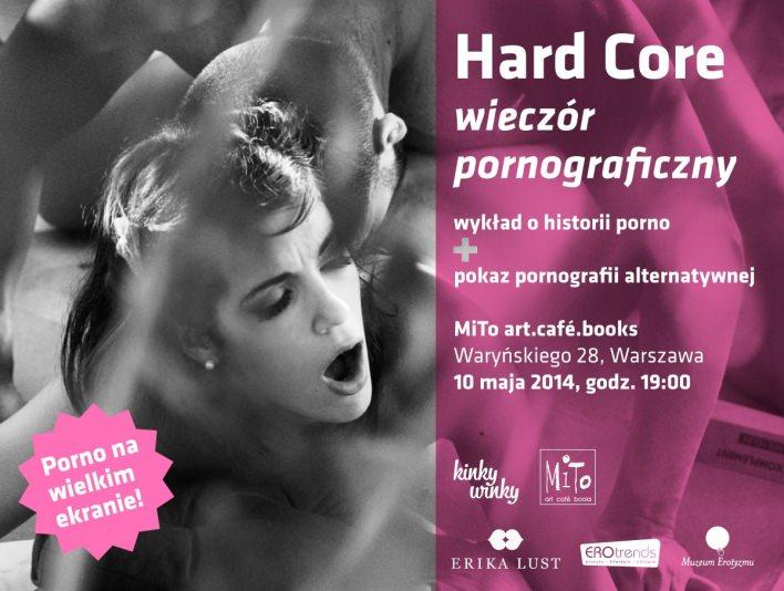 hard core Porno na wielkim ekranie. Impreza w MiTo